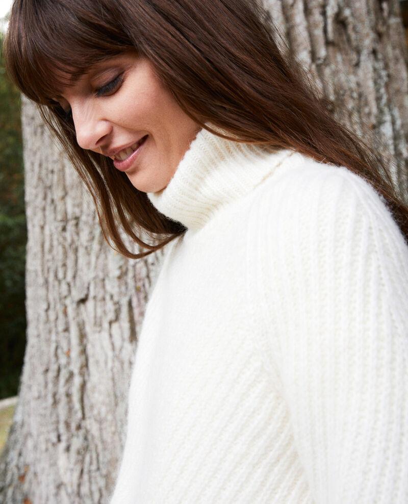 Roll neck jumper Off white Joomia