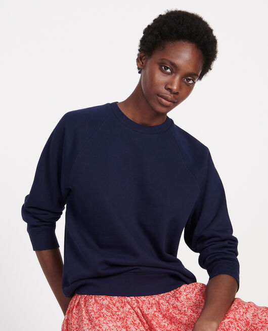 Classic sweatshirt MARITIME BLUE
