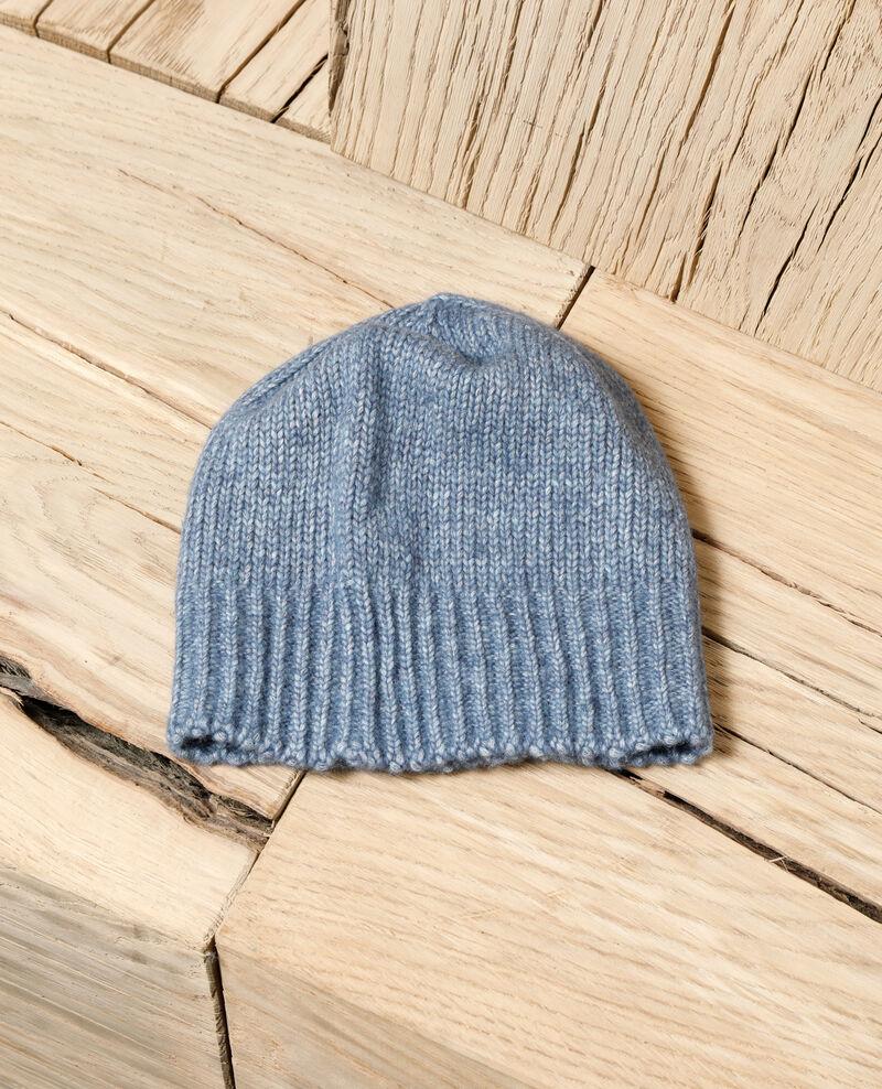 Knit beanie Adriatic blue Glagla