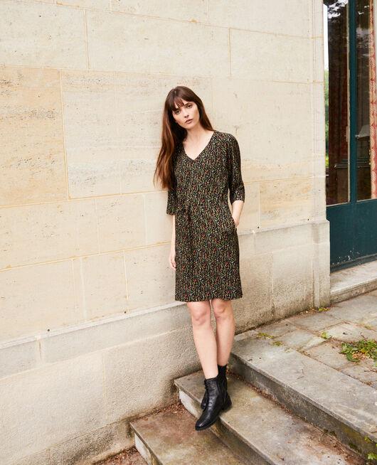Printed dress DAPHNE NOIR