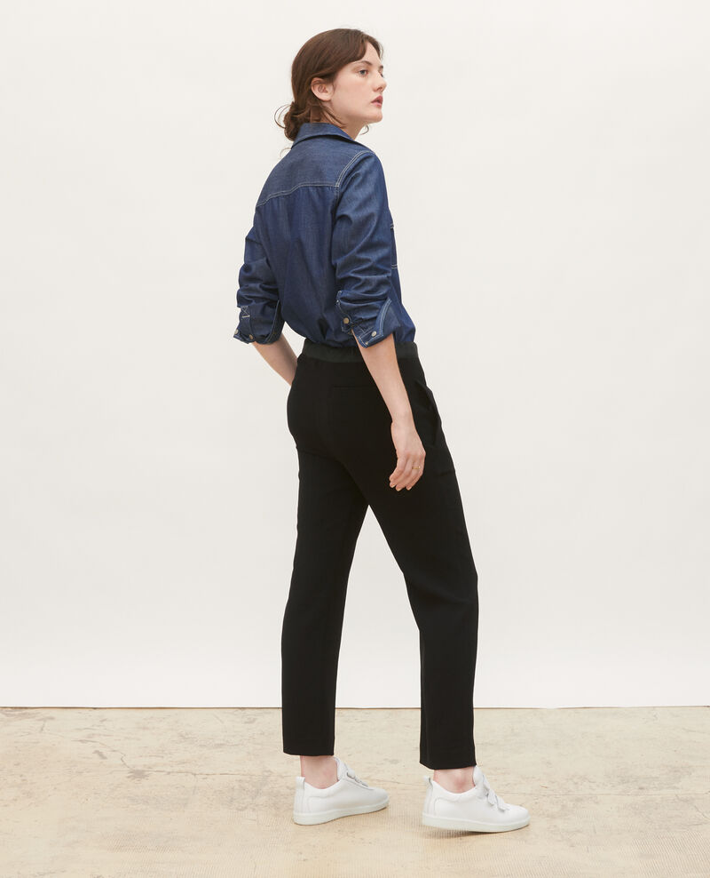 Denim shirt with asymmetric pockets Denim brut Ladigne