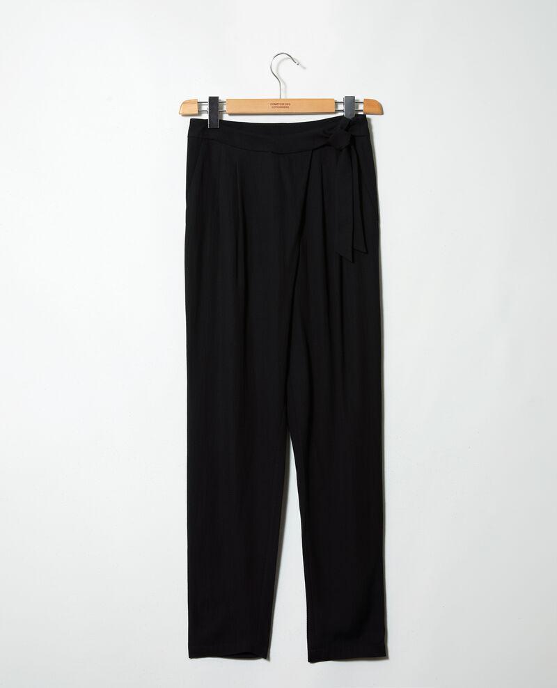 Harem-style pants  Noir Inoise