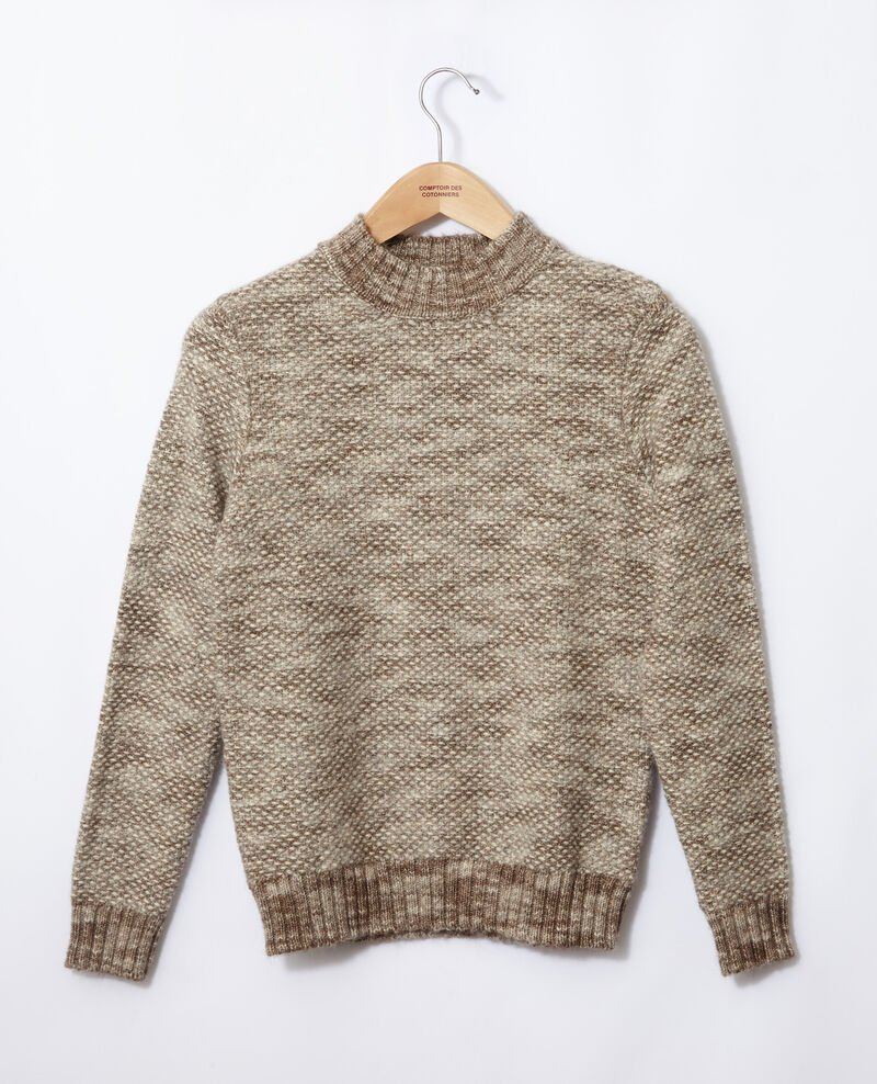 Turtleneck jumper Silver gray/trush Gretel