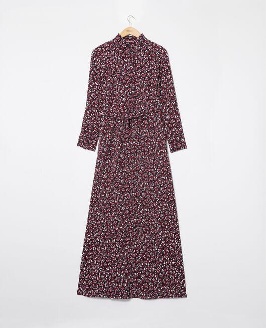 Long printed dress NF NOIR