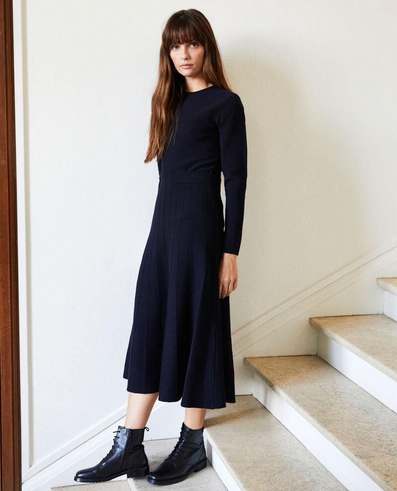 Flared skirt Dark navy Jonsieur