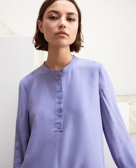 Loose tunic Violet