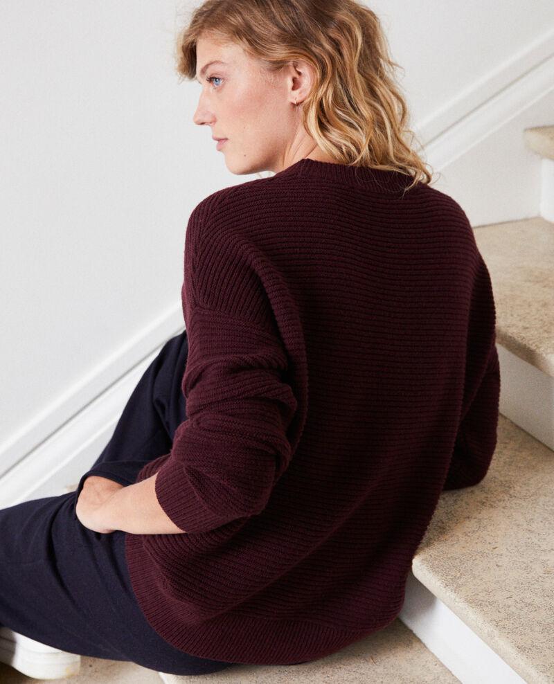 Rib knit jumper Fudge Jaslo