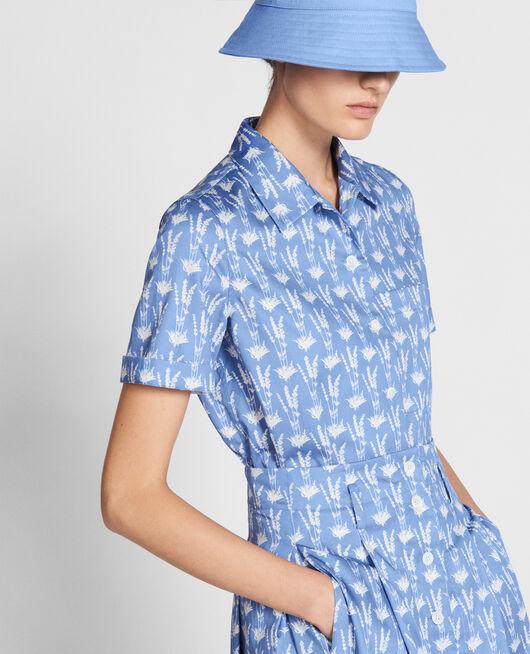 Cotton shirt MOYEN LAVANDE PERSIAN JEWEL
