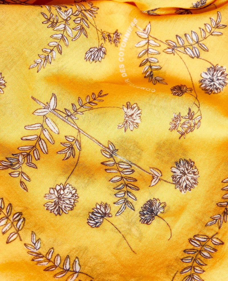 Printed cotton bandana Gold fusion Noronille