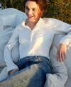 Linen shirt Off white Igram