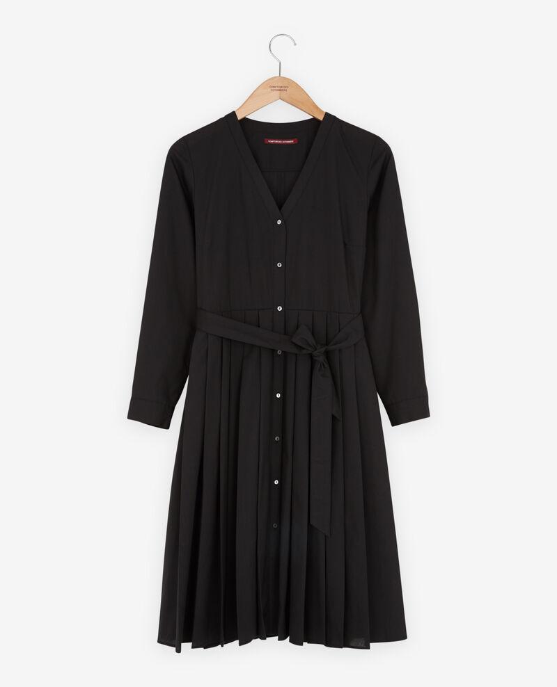 Dress with pleats Noir Festival