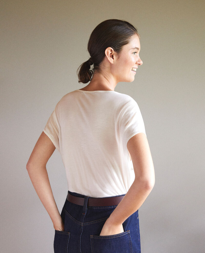 Round neck t-shirt White Gaillet