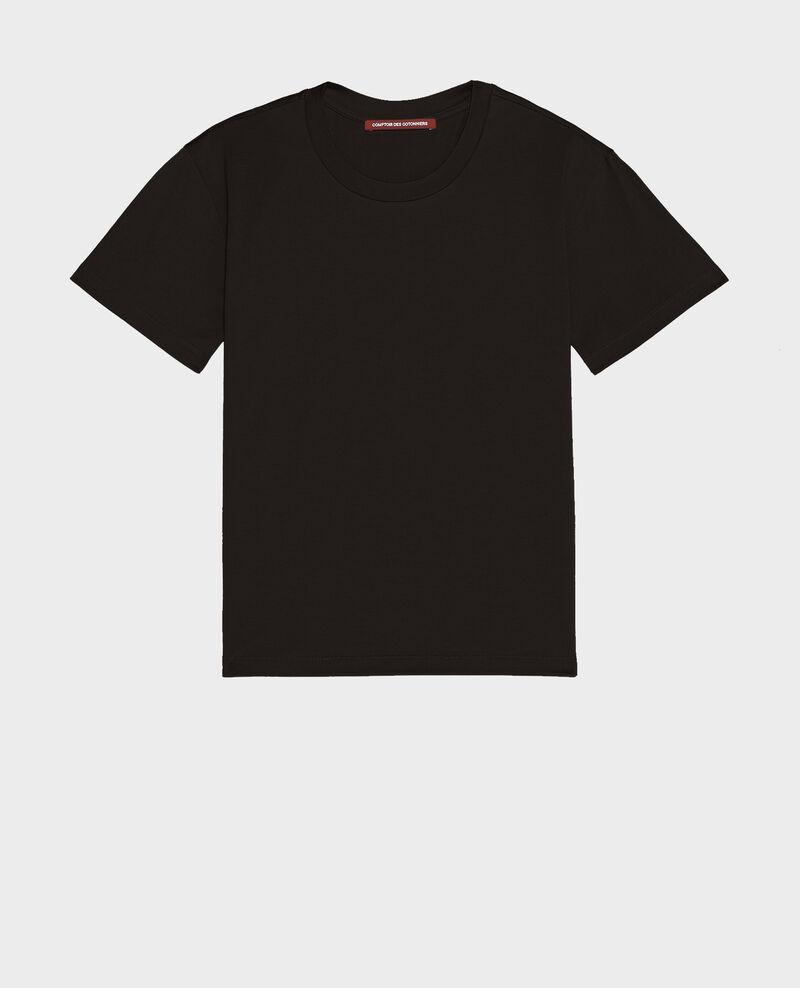 Classic cotton t-shirt Black beauty Lirous