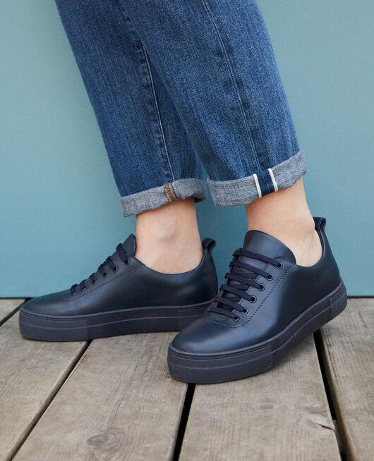 Platform sneakers PEACOAT