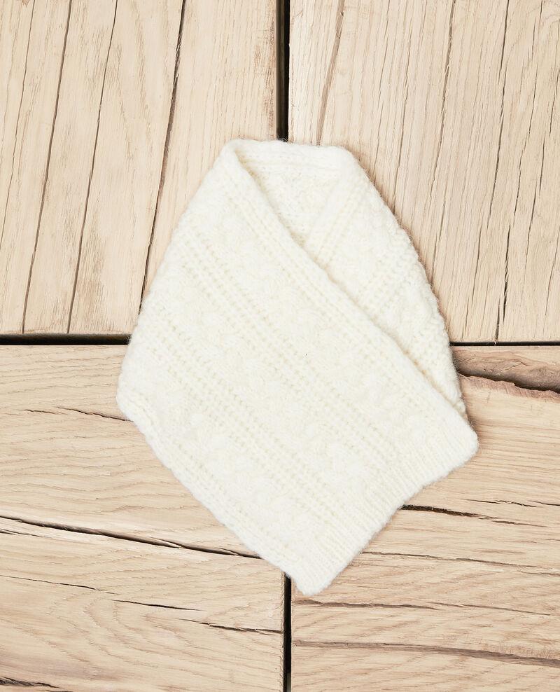 Knitted collar Off white Jidule