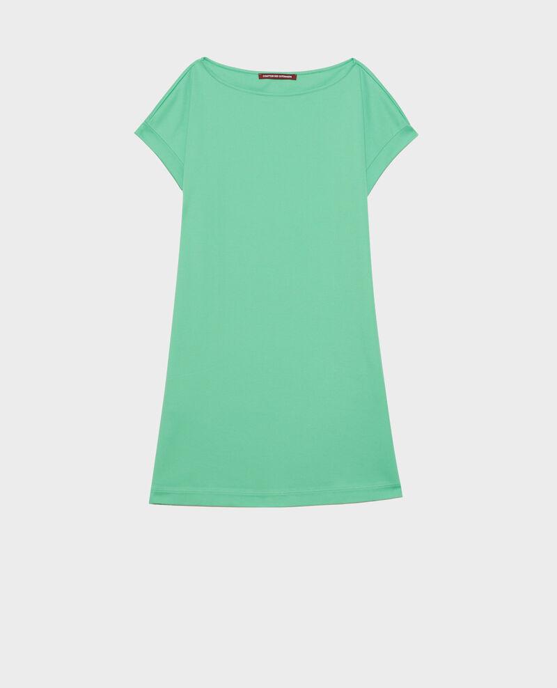 Organic cotton mini dress Jade cream Neuillaco