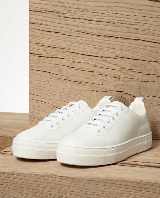 Platform sneakers White