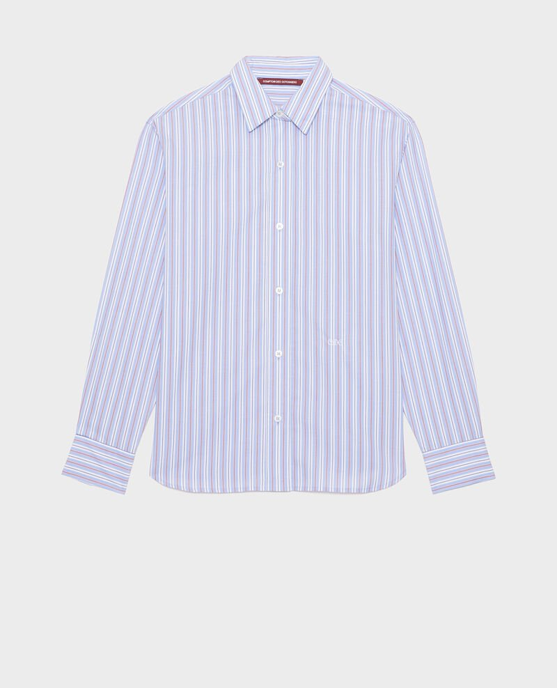 Cotton boyfriend shirt Popeline stripes Lynde