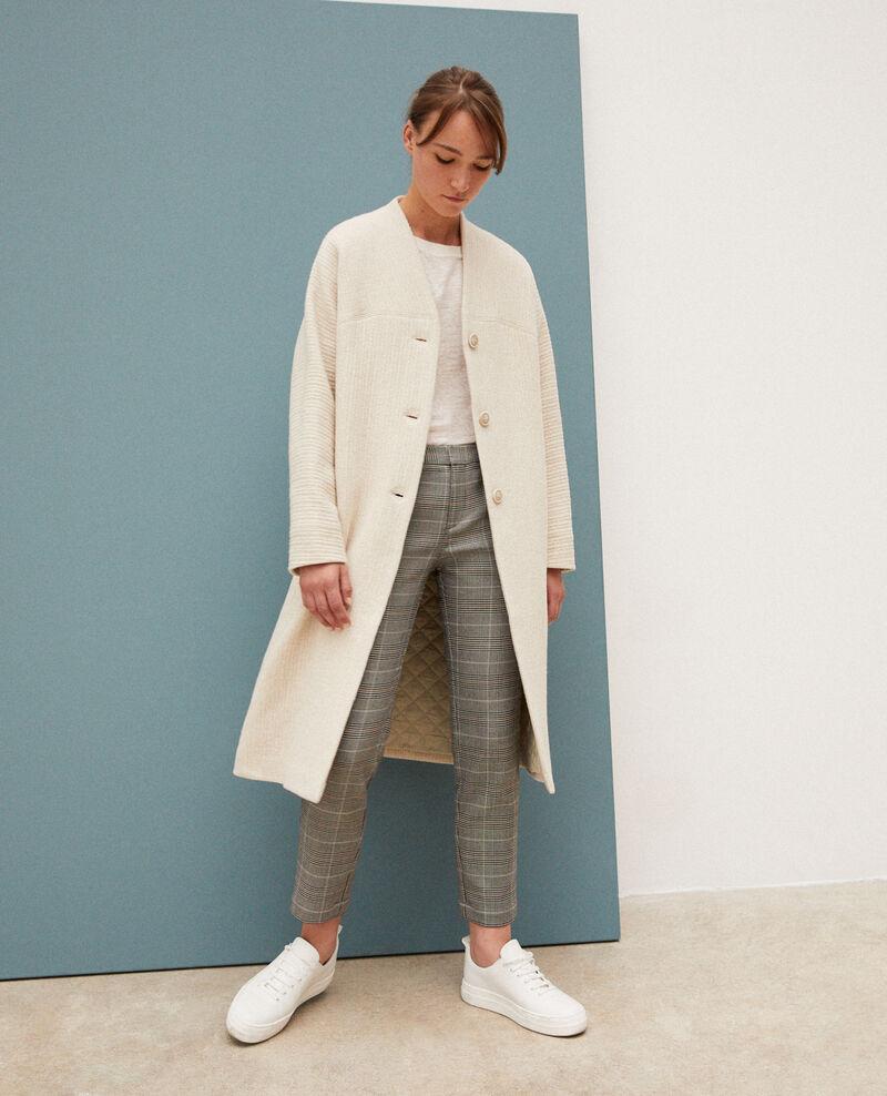 Loose coat Off white Giovanna