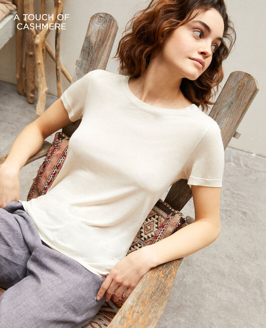 Classic t-shirt NATURAL BEIGE