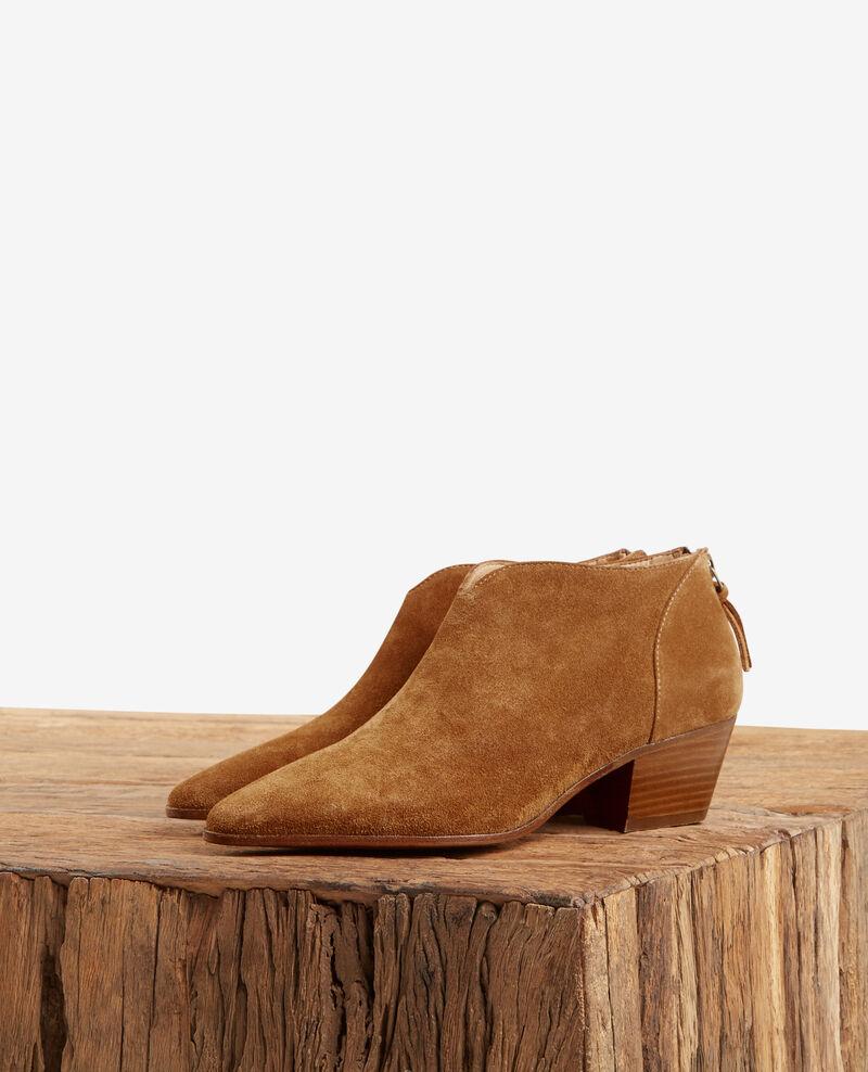 58509f754cc6 Suede ankle boots Cognac - Feline