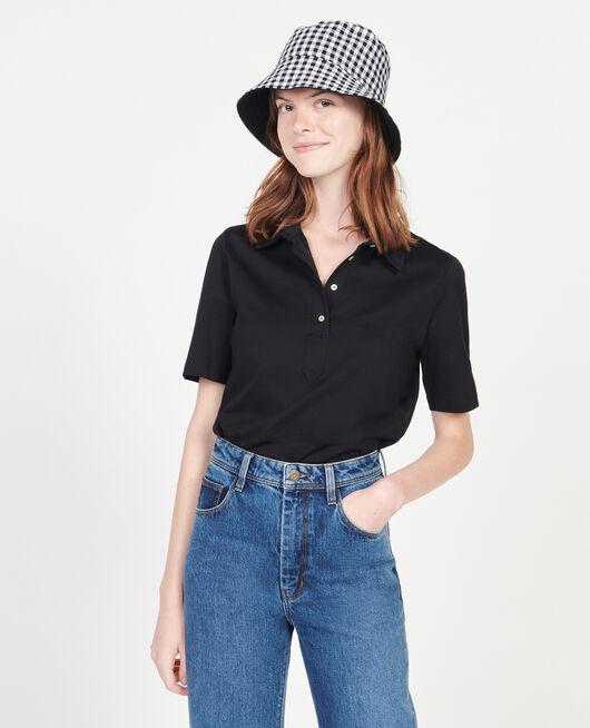 Egyptian cotton polo shirt BLACK BEAUTY