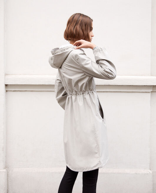 Light parka LIGHT GREY