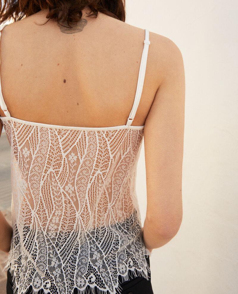 Lace cami Off white Ikouna