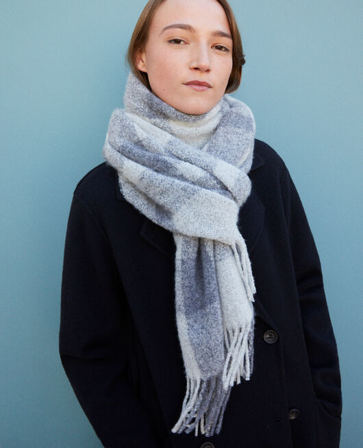 Long scarf Grey