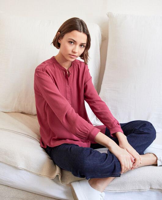 Straight-cut tunic Rouge