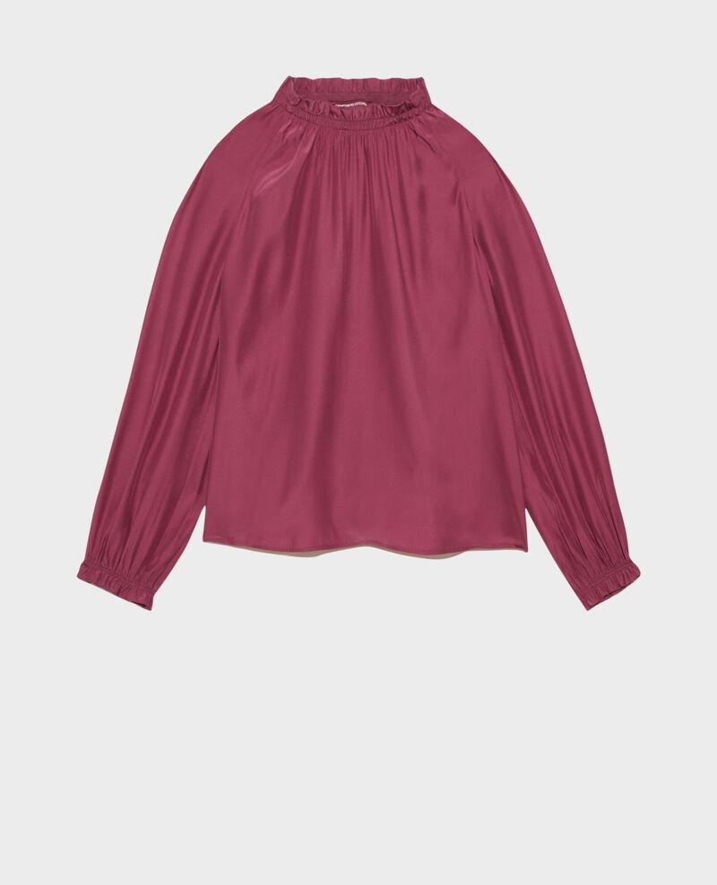 Silk blouse Damson Pachat