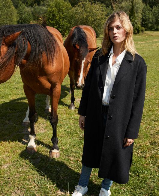 Classic double-sided coat  NOIR