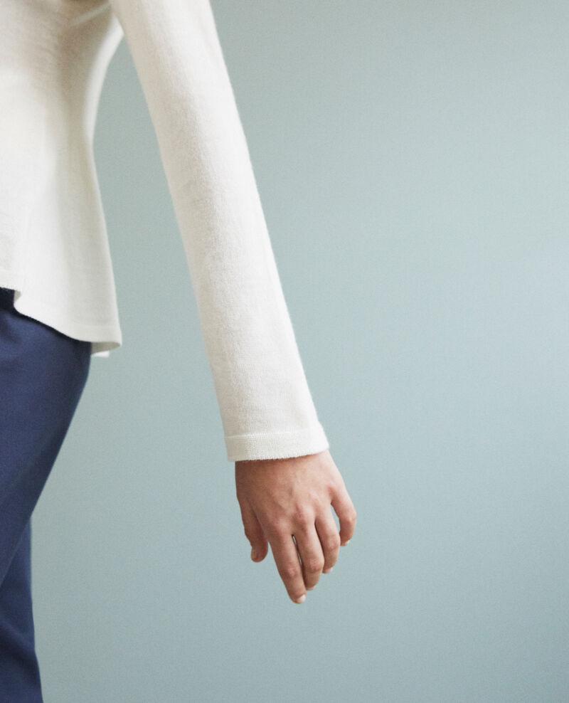 Wool jumper  Off white Icarpan