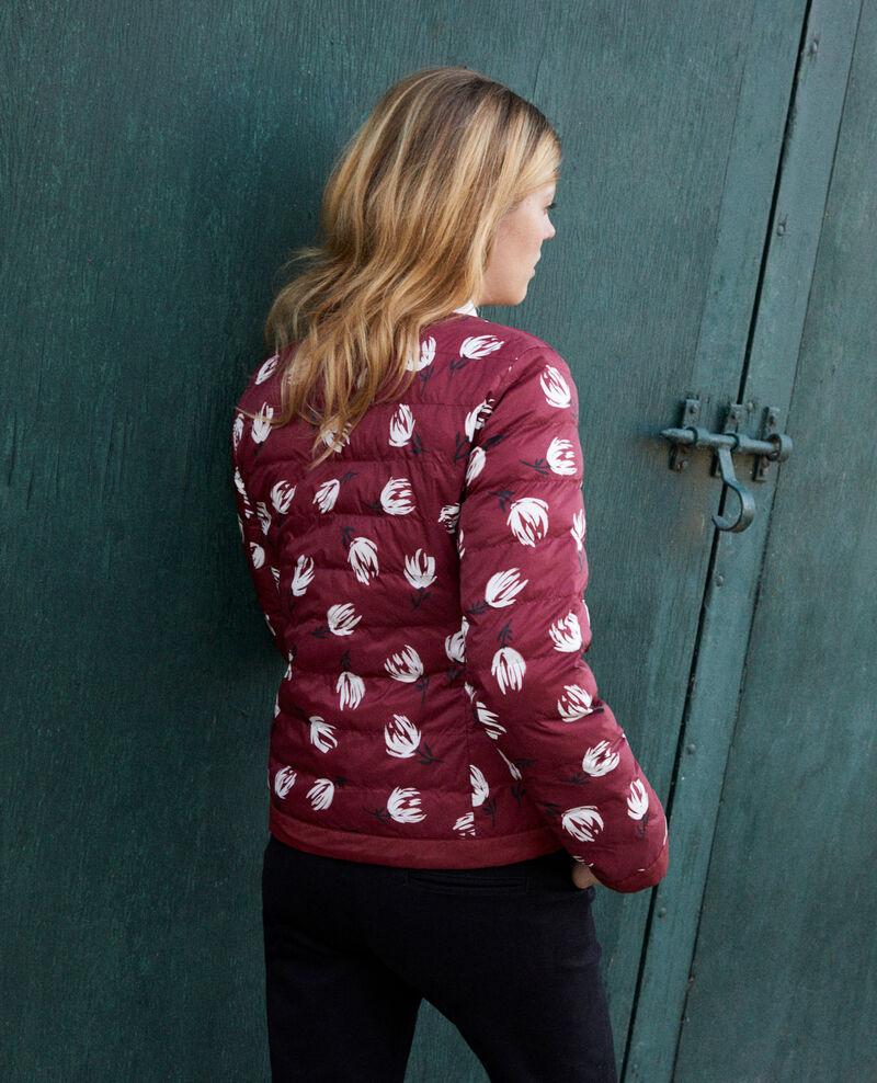 Iconic puffer jacket Tulip cabernet Jillopa