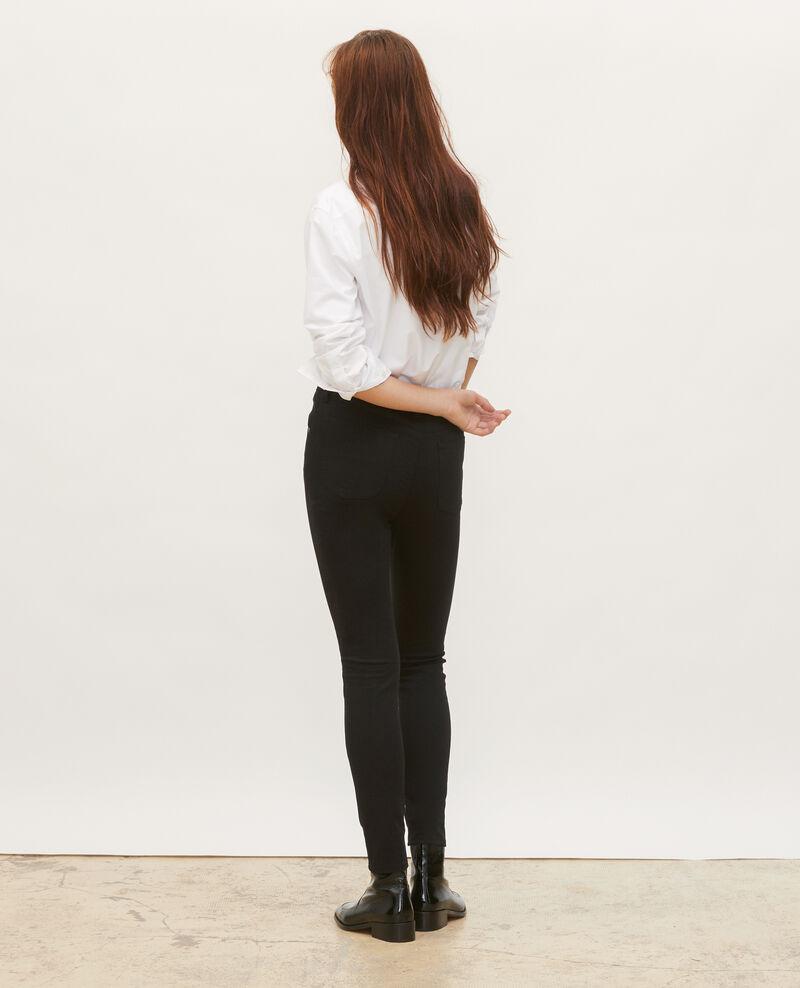 SKINNY - 5 pocket jeans Black beauty Mozakiny