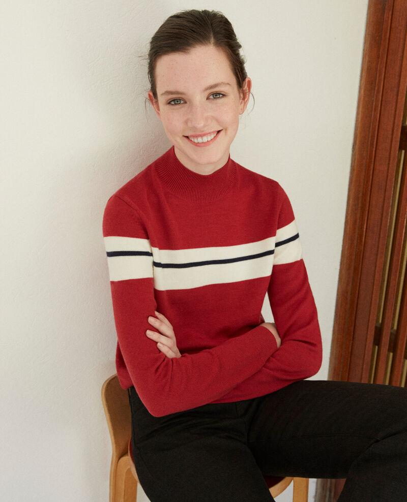 Merino wool jumper Red Gligne