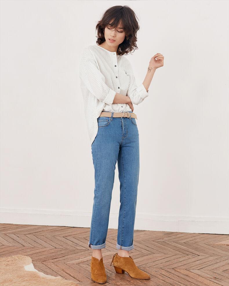Slim fit jeans Vintage wash Fabliau