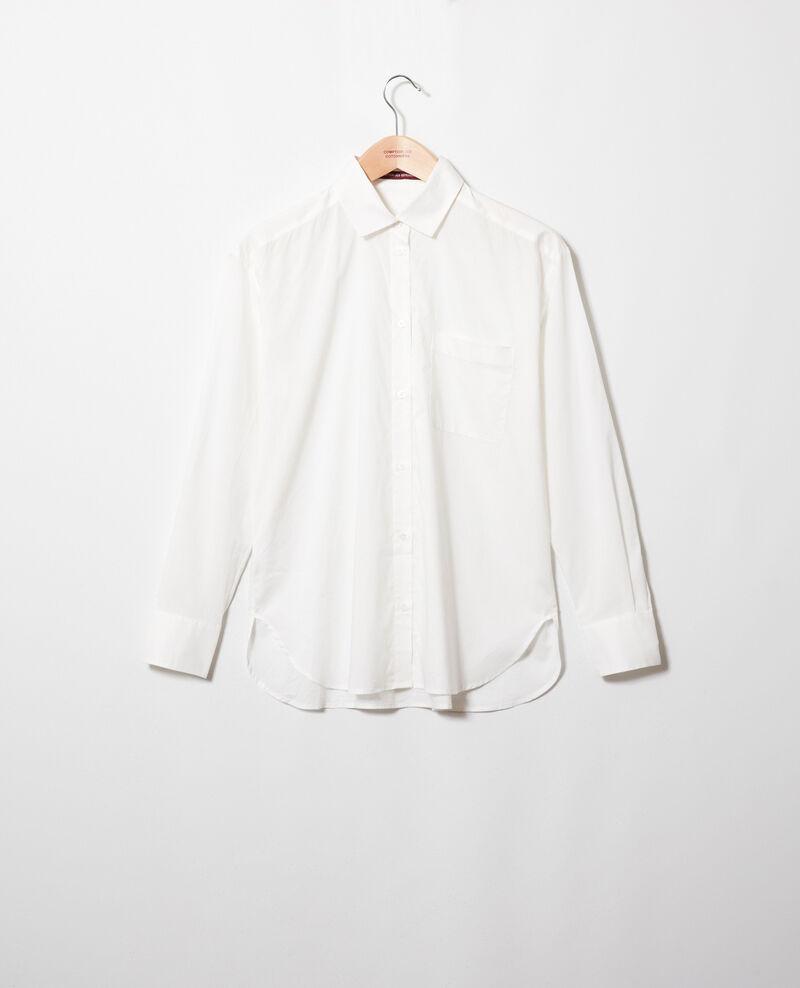 Classic cotton shirt Coconut milk Jilouette