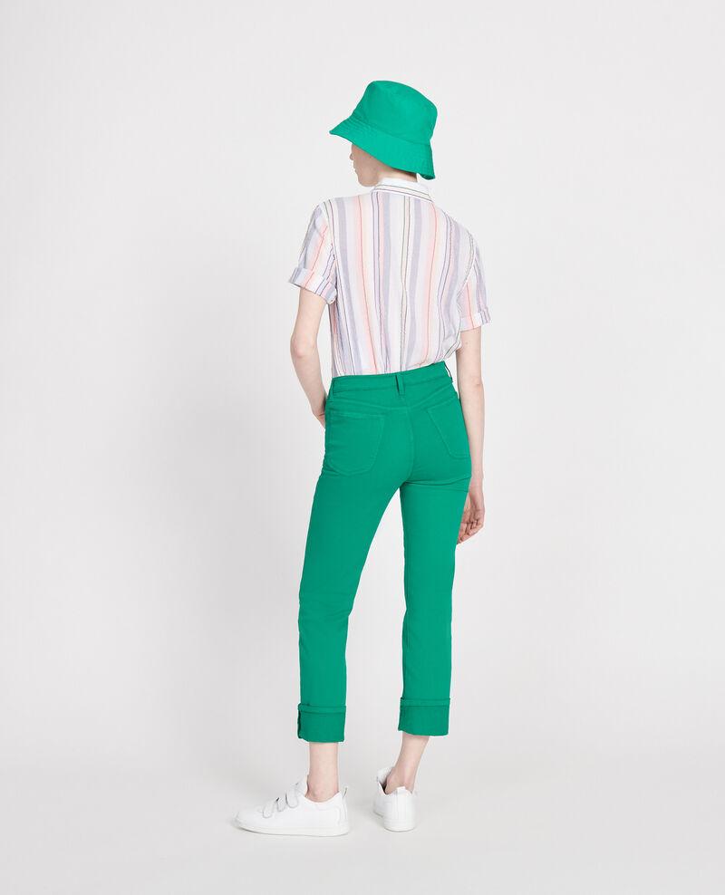 Straight-leg trousers Golf green Lozanne