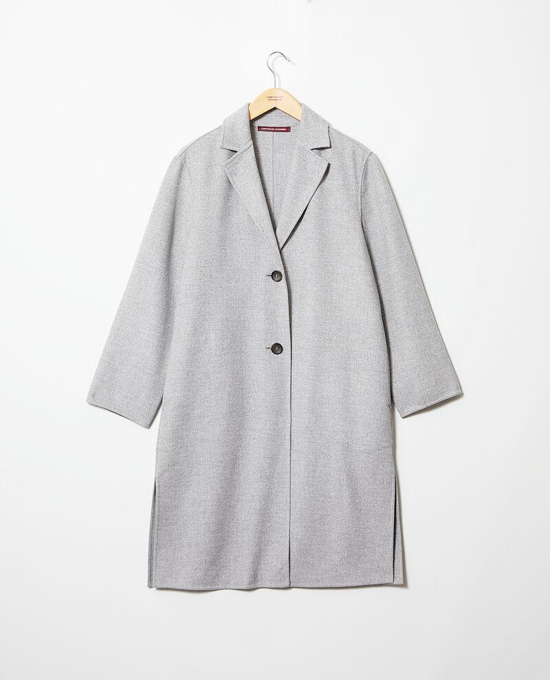 Double-sided coat Gris Irelie