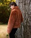 Short synthetic fur coat Lion Jakou