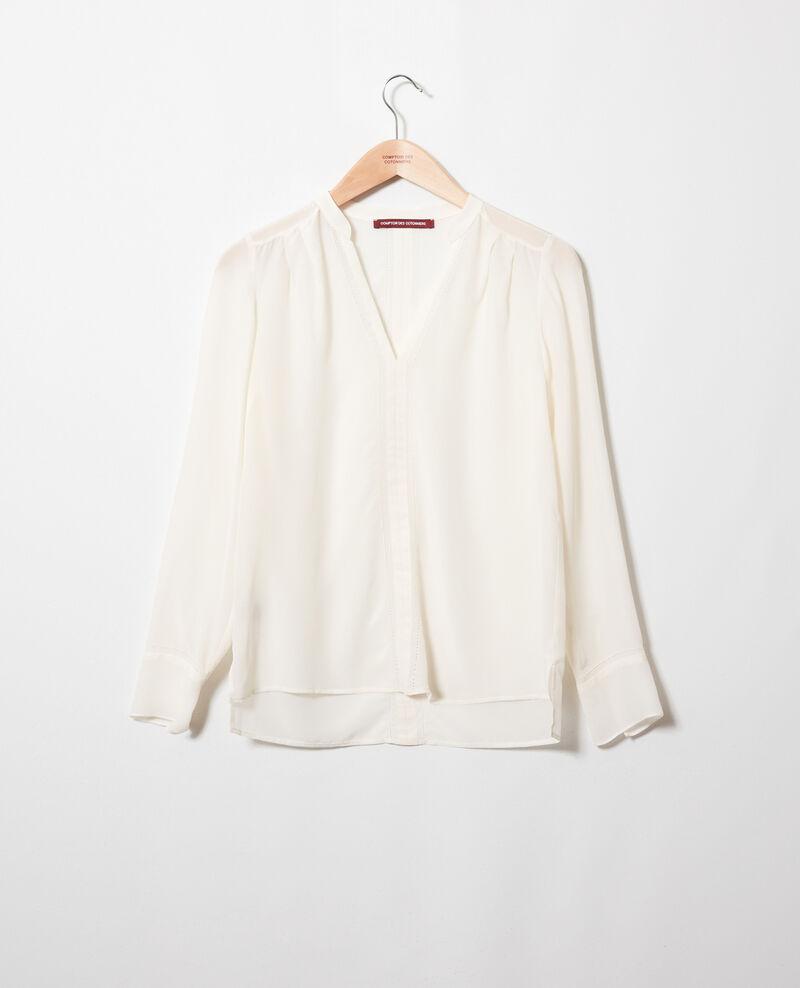 Silk blouse Coconut milk Japristi