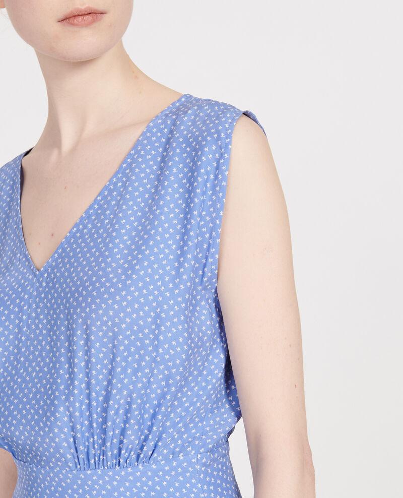 Silk dress Memphis persian jewel Lea
