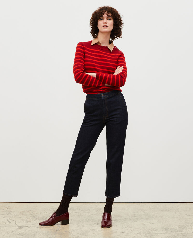 Striped wool jumper Str_ryr_fyr Liselle