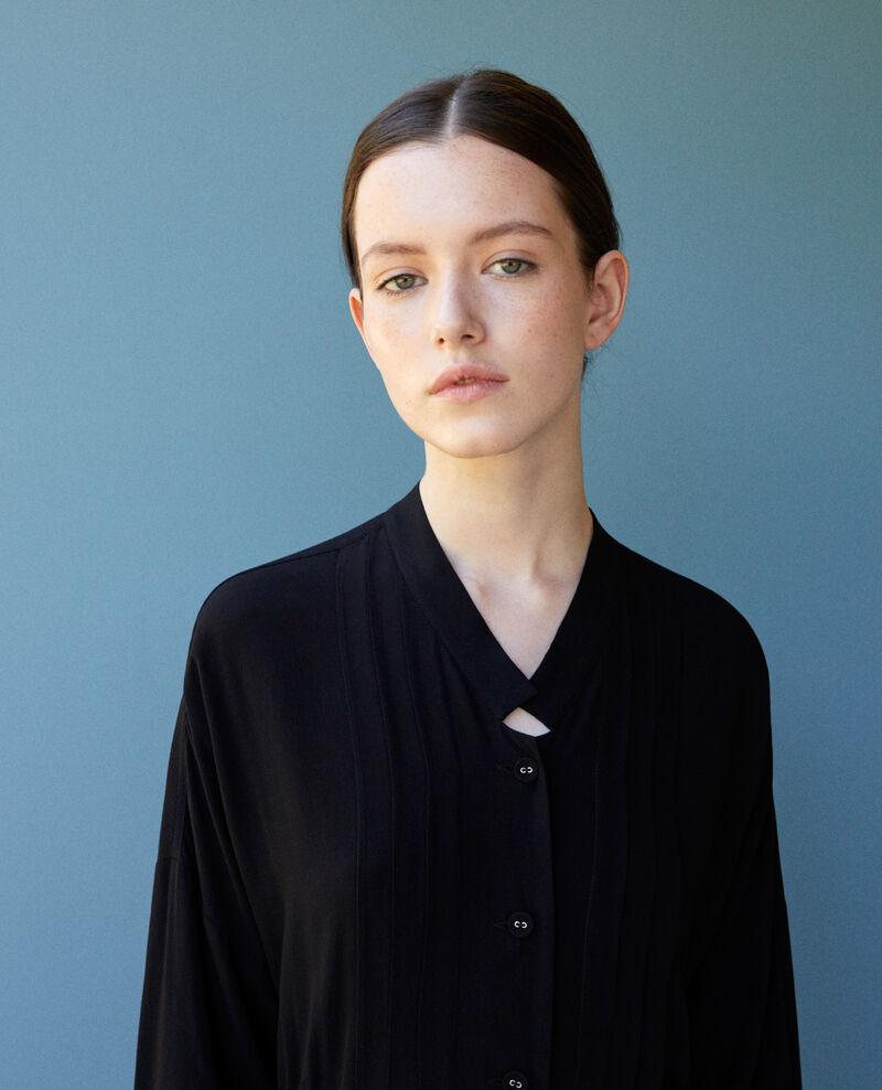 Mid-length dress Black Gevian