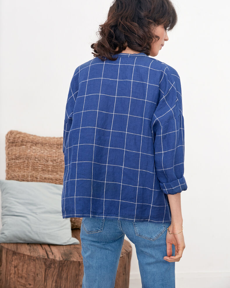 Linen blouse Indigo Fairplay