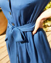 Plunge dress  Imperial blue Imonade