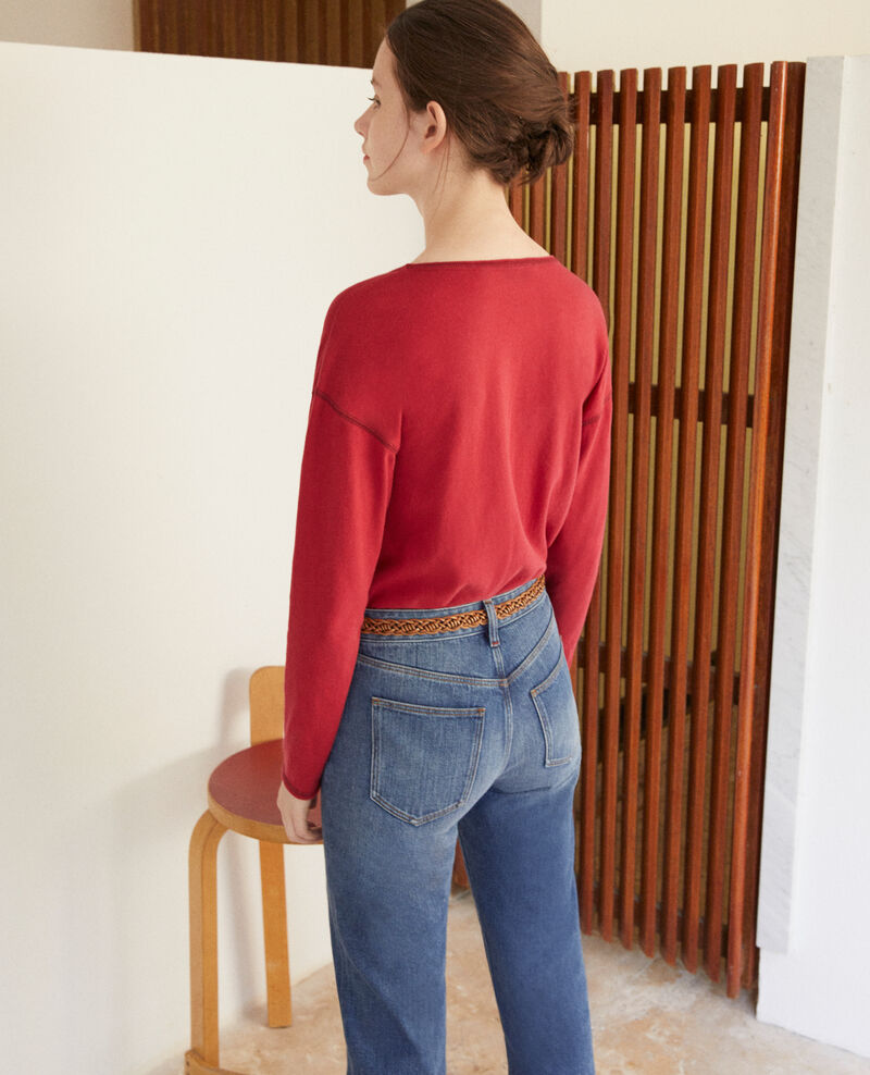 Cotton T-shirt Rio red Gonia