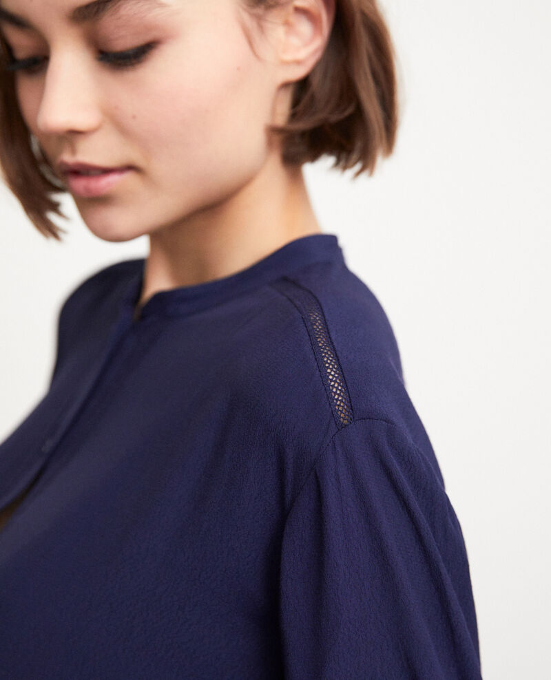 Straight-cut tunic Peacoat Giluce