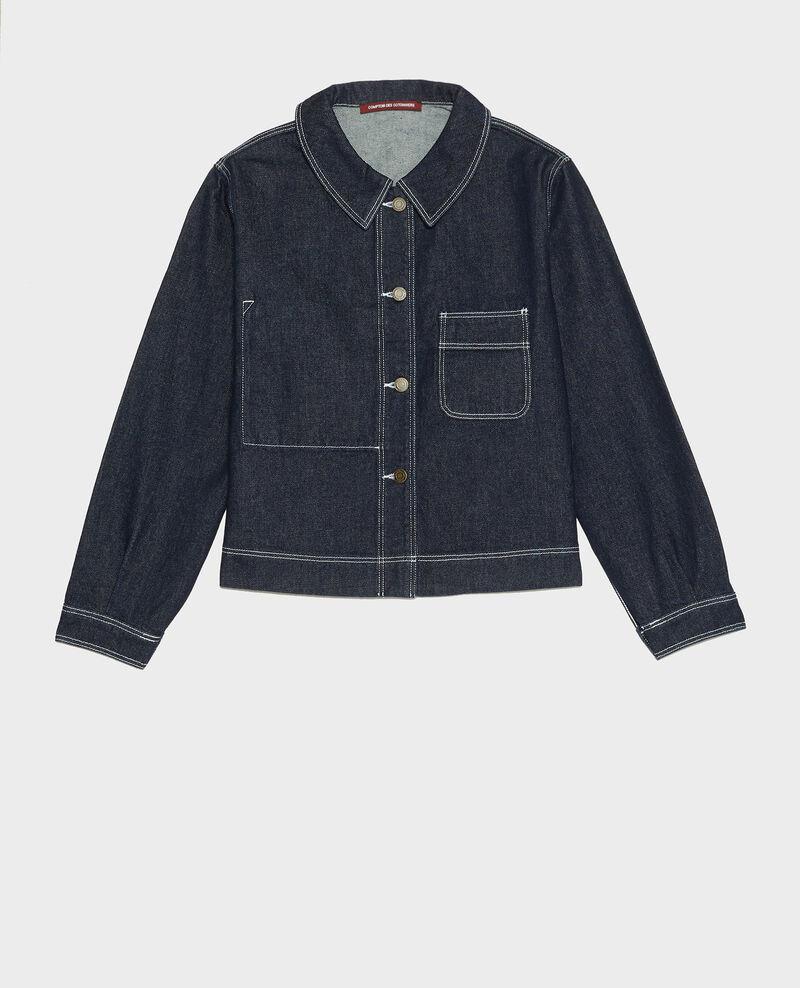 Short denim jacket Denim rinse Lalora